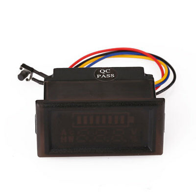 LED LCD Acid Battery Lithium Indicator Capacity Dual Display Tester Meter