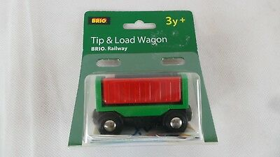 BRIO Railway tip & load wagon 33546