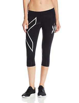 2XU Women's Thermal Compression 3/4 Tights Black/Black, X-Small