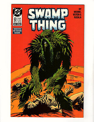 Swamp Thing #63 (1987, DC) VF+ Vol 2 Alan Moore Rick Veitch