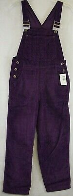 Brand New High Sierra overalls girls Color purple ( Large-14)