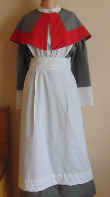 Ww1 Ww2 Style Qaimns  Costume Uniform British Army Nursing Complete Costume