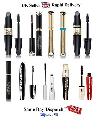 UK No1 Black Mascaras – Choose Your One - FREE & Rapid Delivery