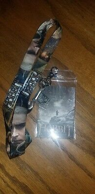The Hobbit The Desolation of Smaug -Lord Of The Rings Lanyard- Bioworld brand