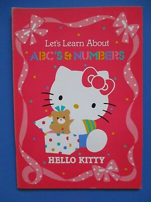 22ae206b4 NEW Sanrio HELLO KITTY Vintage 1987 Coloring Book with Stickers Collectible  Rare