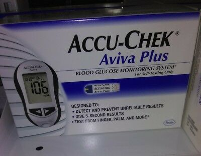Accu Chek Aviva Connect Blood Glucose Monitoring System 1900