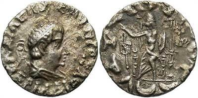 INDIAN Indo-Greek Kingdom Hermaios AR Tetradrachm Ca. 90-70 B.C.