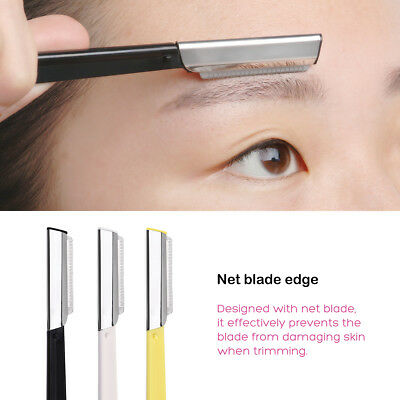 6pcs Facial Eyebrow Razor Trimmer Shaper Shaver Blade Knife Hair Remover Tinkle