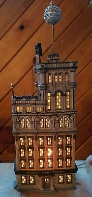 DEPT 56 THE TIMES TOWER  Special Edition Gift NY Square NYC New Years Eve Ball