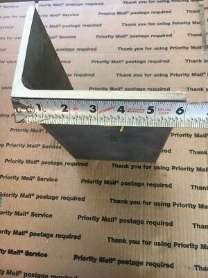 "Steel Angle Iron 4"" X 6"" X 10""  5/16"" Heavy Duty Bracing Brackets Welding Shelf"