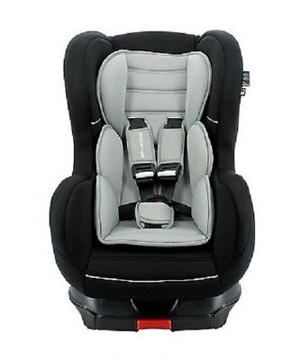 TT Nania Cosmo SP Luxe Isofix Group 1 9m to 4yrs Reclining Car Seat Black 3t ExD