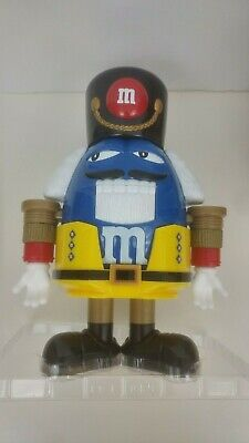 M&M's Nutcracker Sweet Chocolate Candy Dispenser - Limited Edition, Blue