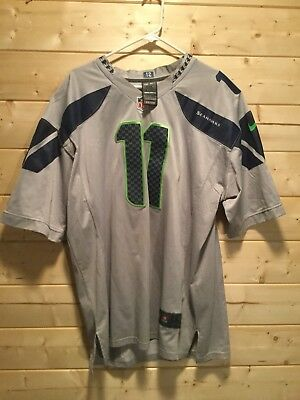 Nice NFL NIKE ON Field Youth Russell Wilson Seattle Seahawks $35.89  for cheap