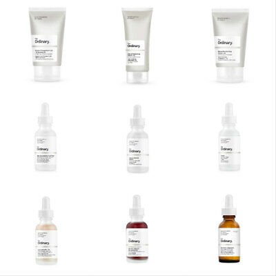 THE ORDINARY Skincare Acne Antioxidant Peel Acid Peptide Serum Moisturiser Toner