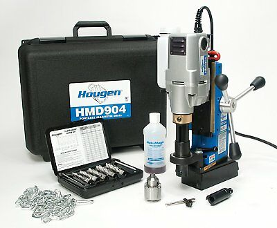 Hougen HMD904S Swivel Base Portable Magnetic Fabricators Kit Made in USA
