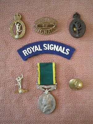 Territorial Efficiency Medal & Badges to Sergeant TAYLOR, Royal Corps of Signals