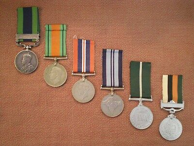 Unique Indian Father/Son Medals to MOHD Civil Med Dept & Pakistan Armoured Corps