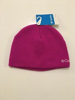 NWT - COLUMBIA Girls Youth Whirlibird Watch Cap Winter Hat -  10.00 ... 74edfd4ca742