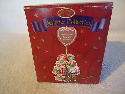 San Francisco Music Box Co. Friends Share Love and Memories Christmas Ornament