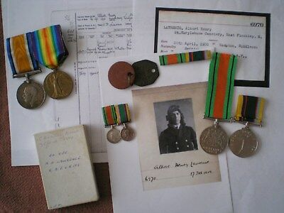 Royal Air Force Volunteer Reserve Cadet Long Service Medal Group to LAWRENCE