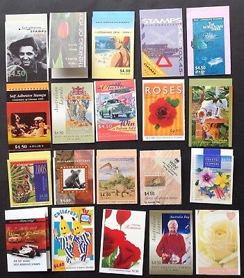 Australia Booklets (20 books of 10 x $4.50 stamps)