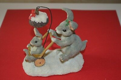 """Charming Tails """"CHRISTMAS STROLL""""  By FITZ AND FLOYD"""