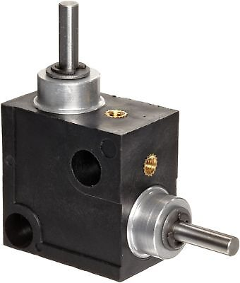 Huco 333.31.3.Z Size 31 L-Box Miniature Right Angle Gearbox, Acetal Case with...