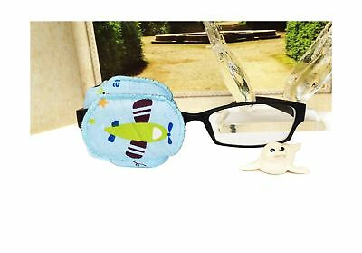 Pure Cotton Reusable Eye Patch Cartoon Amblyopia Eye Patches For Glasses Trea...