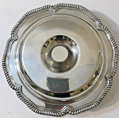 Rare Antique E.g. Webster & Son Silver Plate Divided Serving Dish/tray With Lid