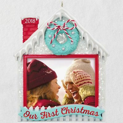 Hallmark 2018 ~ Our First Christmas Photo Ornament