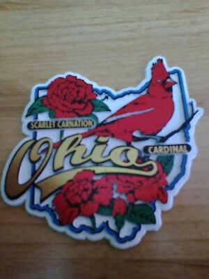 State Bird & Flower Magnet - Ohio