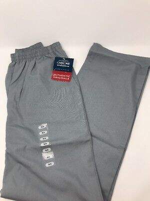 Women's Scrub Pants Cherokee Stretch Workwear Extra Small XS Gray New With Tags