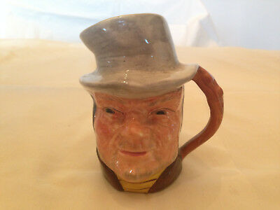 """Vintage Cooper Clayton 2 1/2"""" """"Bill Sykes"""" by Colletable Miniature Toby Mug"""