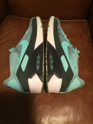 newest 7c150 fedd6 Men s Nike Air Max 90 Ultra 2.0 Flyknit HYPER TURQUOISE 875943-301 Size 10