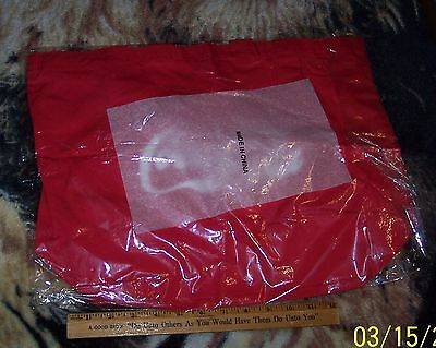 Coca - Cola  Mcr Canvas Tote / Grocery Bag With Handle New In Package