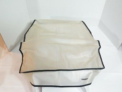 "Vintage Tandy Office Machine ( Typewriter ? ) DUST COVER ONLY 16"" x 14"" x 10"""