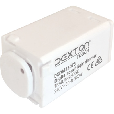 DEXTON DXDM350TS TOUCH 2 in 1 PUSH BUTTON UNIVERSAL LIGHT DIMMER MECHANISM 350W