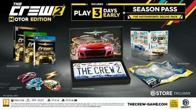 THE CREW 2: MOTOR EDITION PS4 In hand and ready to ship + BONUS SOLD OUT!!