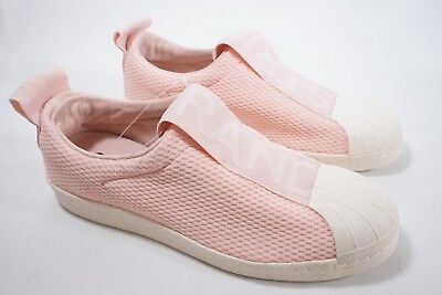 buy popular 9f048 ad5d2 Adidas Womens Superstar Ice Pink Slip On Shoes Sneakers BY9138 NWOB
