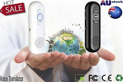 Smart Voice Chinese & English Instant Automatic Translator Machine Real Time OK