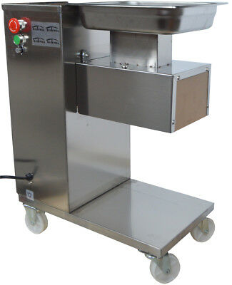 110V QE Meat Cutting Machine Meat Cutter Slicer with 5mm Blade 500KG/H Output
