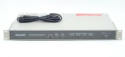 Grass Valley Group SCB-200N SMPTE Color Bar Pattern Sync Genlock Tone Generator