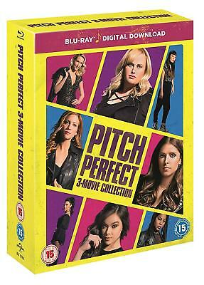 Pitch Perfect Trilogy 1 + 2 + 3 Film Collection Blu-ray Boxset New Region Free