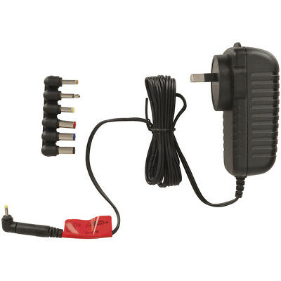 AC 100-240V to DC 12V 2.5A 2500mA Switchmode Power Supply Adapter Charger 7 plug
