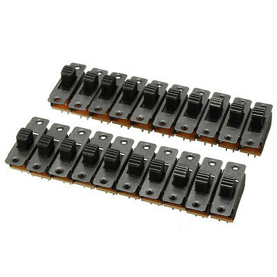 20XBlack Small Size SPDT Slide Switch On-Off 3-Pin PCB 5V 0.3A DIY Projects~