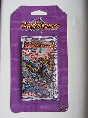 Duel Masters TGC DM-10 SHOCKWAVES OF THE SHATTERED RAINBOW BLISTER BOOSTER PACK