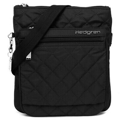 NEW Hedgren Diamond Touch Karen Black Shoulder Bag