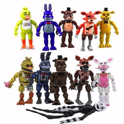 18 Stk Five Nights At Freddy's FNAF Action-Figuren Spielzeug Freddy Fazbear Bär