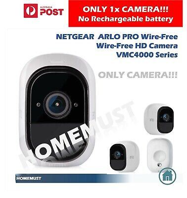 NETGEAR VMC4030 ARLO PRO Wire-Free HD Home Security 1xCamera,1xBattery