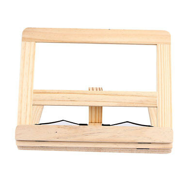 Wood Foldable Creative Adjustable Book Stand Book Holders Stationery Home